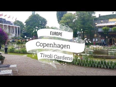Tivoli Gardens - Copenhagen Travel Vlog - Day Two