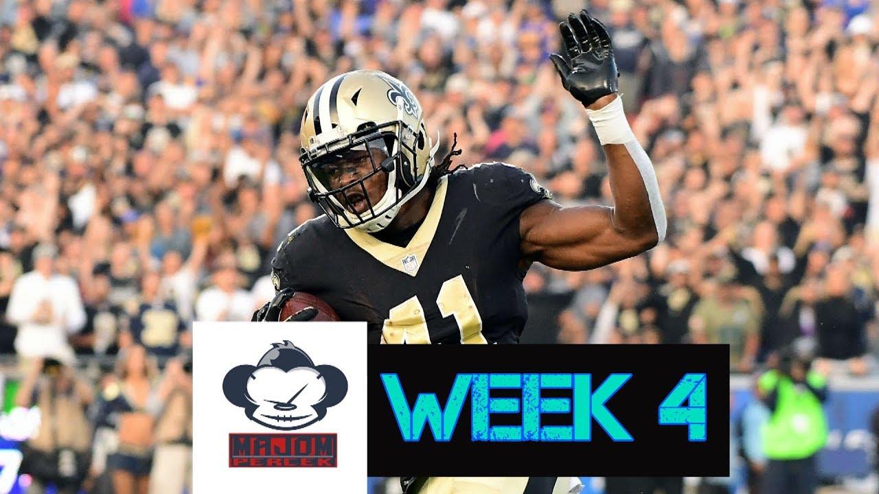 NFL Fogadás - 4. hét