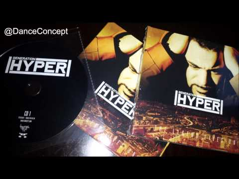 Nicky Blackmarket & Stevie Hyper D - Generation Hyper Mix CD - Dance Concept