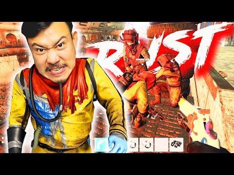 RUST VIỆT NAM #6: ĐI CHIẾM KHU QUÂN SỰ VỚI BAO CHỬNG !!! Địch chết 3, ta chết hết =)))) thumbnail