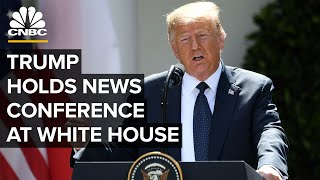 President Donald Trump holds news conference at the White House - 7/14/2020