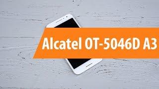 распаковка Alcatel OT-5046D A3 / Unboxing Alcatel OT-5046D A3