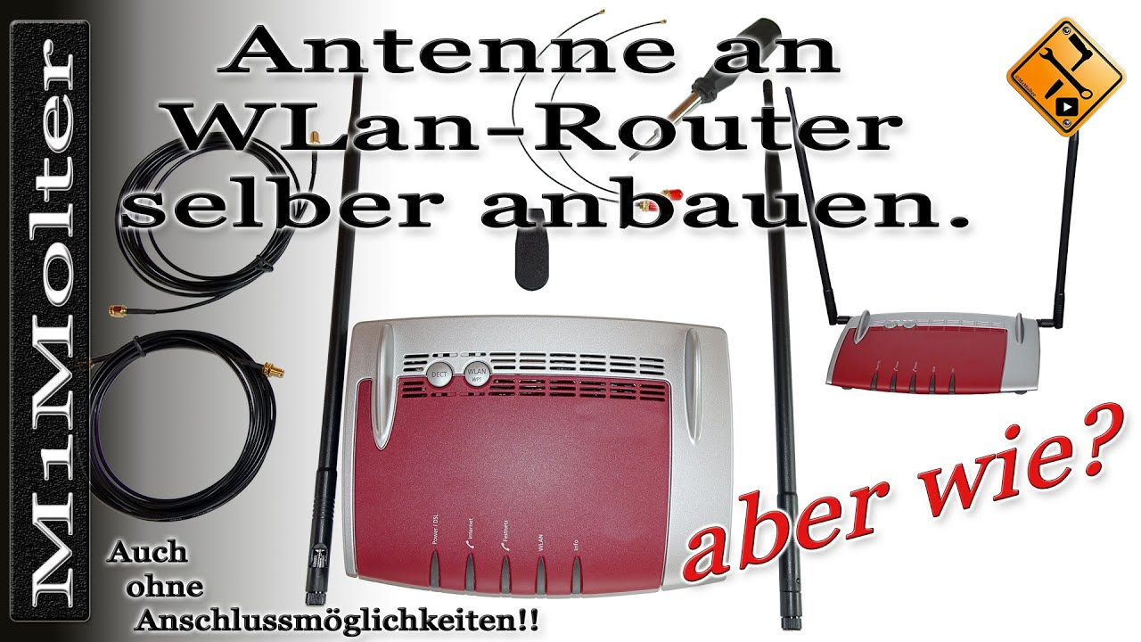wlan router reichweite verbessern durch neue antennen ohne antennenanschluss m1molter cc en. Black Bedroom Furniture Sets. Home Design Ideas