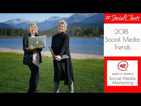 Social Chats Episode 26 🎥 2018 Social Media Trends to Watch for!