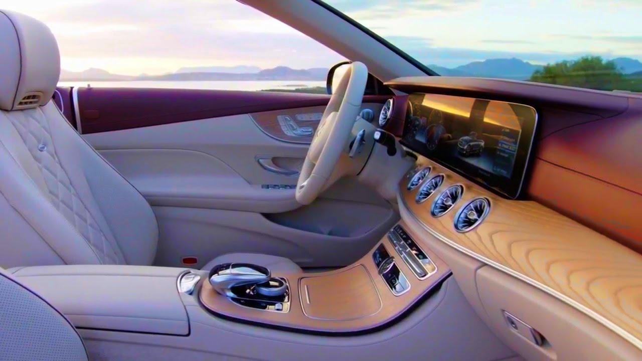 2018 Mercedes Benz E Class Cabriolet Avantgarde Interior And