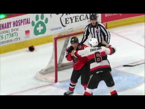 Andreas Englund vs Michael Latta Jan 5, 2018