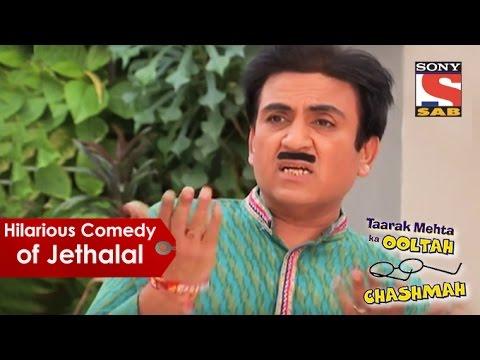 Hilarious Comedy Of Jethalal | Taarak Mehta Ka Oolta Chashma