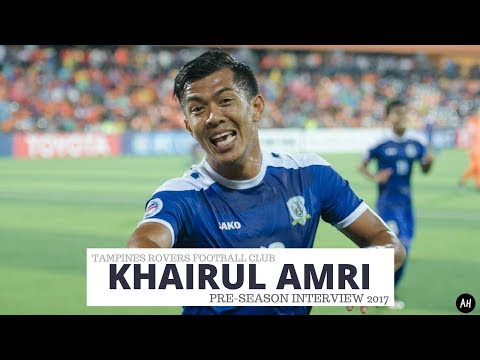 Khairul Amri (Tampines Rovers FC Pre-Season Interview 2017)