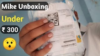 Mike ka unboxing || best mike for YouTube || Mezire 3.5 mm clip mike