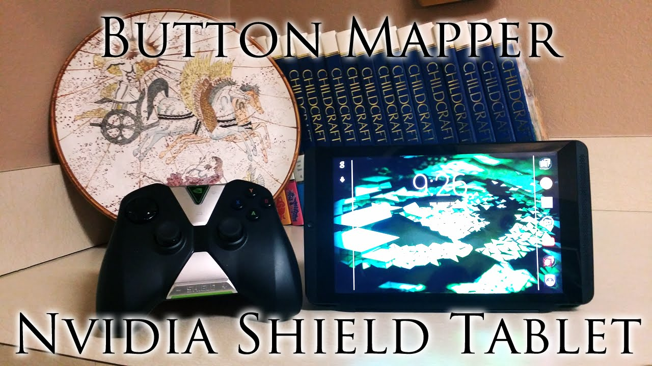 How to use Nvidia Shield Tablet Controller Button Mapper Tutorial |  Minecraft PE