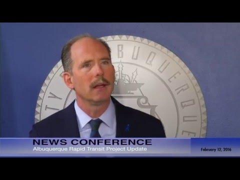 Mayor Richard J. Berry, City of Albuquerque  News Conference  2-12-16
