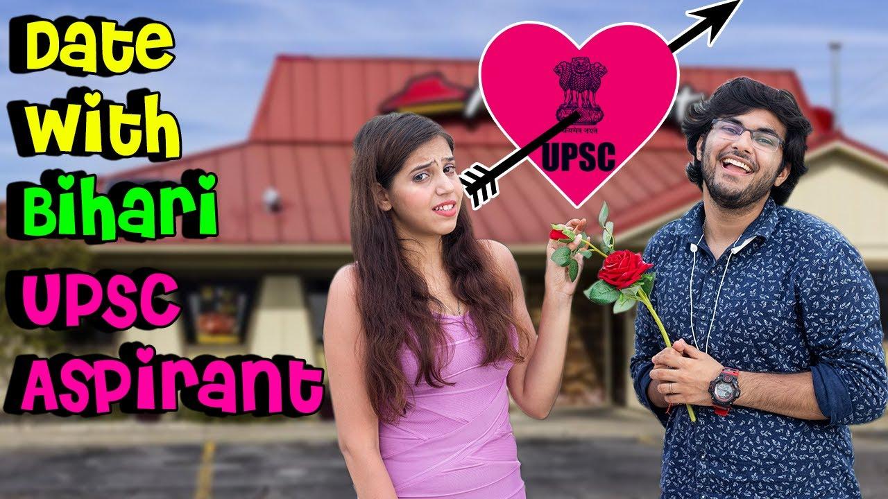 Date With UPSC Aspirant || Bihari IAS Aspirant || AV Humour