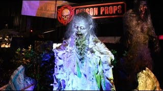 Poison Props animatronics at TransWorld Halloween show 2015