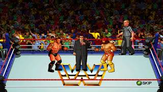 WWE Wrestlefest Xbox Entrances  and Signature moves