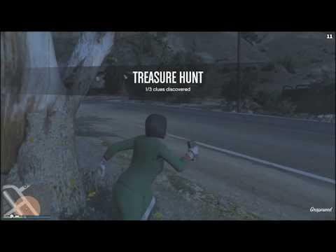 San Chianski Mountain Range Treasure Hunt GTA ONLINE 12/17