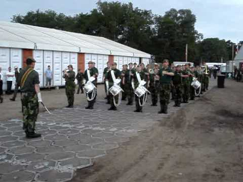 Swedish Military Marching Band at Camp Heumensoord Nijmegen