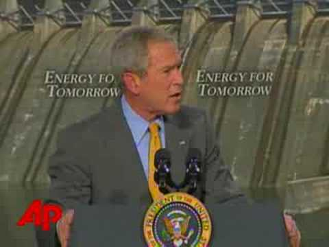 Bush Renews Push for Offshore Oil Drilling