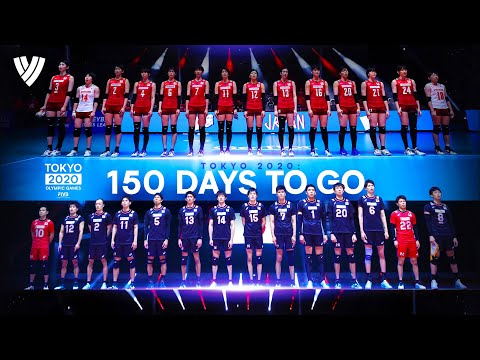 150 EPIC Volleyball Attacks For Tokyo 2020 Countdown   Highlights Volleyball World