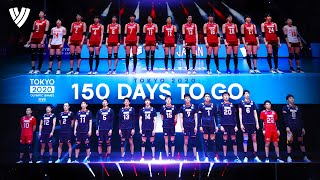 150 EPIC Volleyball Attacks For Tokyo 2020 Countdown | Highlights Volleyball World