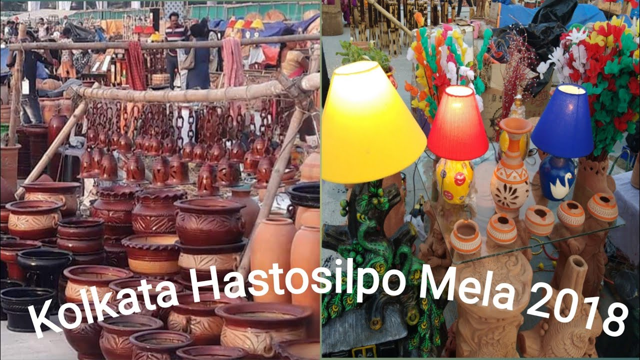 West Bengal Handicraft Fair 2018 Eco Park L I Hastosilpo Mela L I