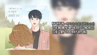 Download Lagu Kyuhyun - The Moment My Heart Flinched (She`s My Type X Kyuhyun) mp3