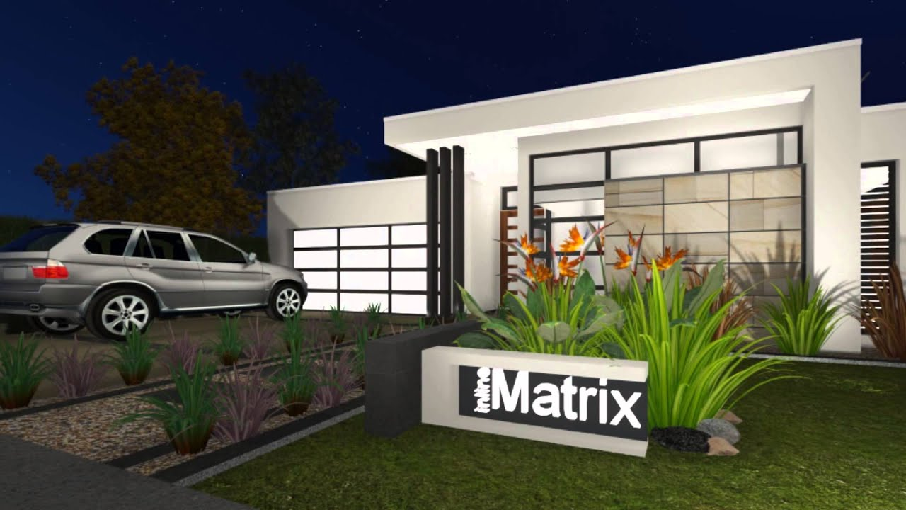 Inline Designer Homes Matrix   YouTube