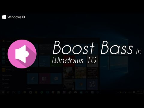 How to Boost Bass in Windows 10 (Updated Tutorial)