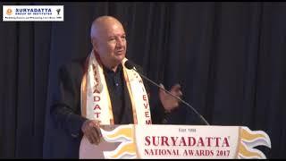 Shri Prem Chopra, was invited at SGI's 19th Foundation Day 2017