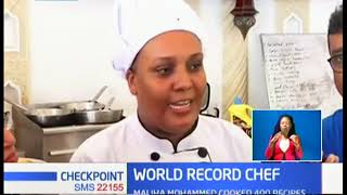 Mombasa chef breaks cooking record