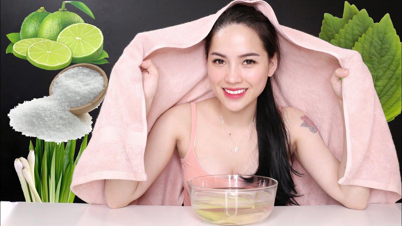 XÔNG HƠI MẶT TRỊ MỤN ẨN TẠI NHÀ CỰC DỄ LÀM | Ha Linh Official