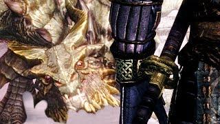 Blades Army VS Dragons - Skyrim Remastered NPC War