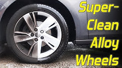 How To Superclean Alloy Wheels