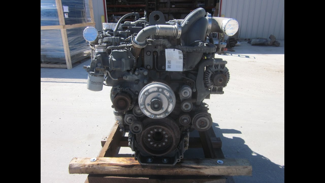 2012 Paccar Mx 13 Engine 455 Hp Sold Youtube