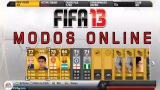 FIFA 13: Modos Multiplayers Online  // Quais são?