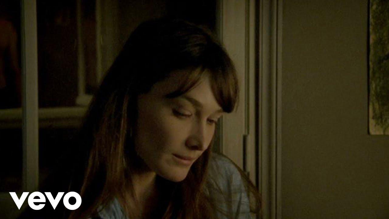 Carla Bruni - Quelqu'un m'a dit (Official Music Video)