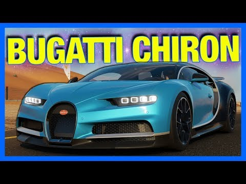 Forza 7 Online : BUGATTI CHIRON TEST DRIVE!! (Top Speed, Drag & Racing)