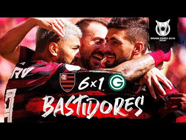 Flamengo 6 x 1 Goiás - Bastidores