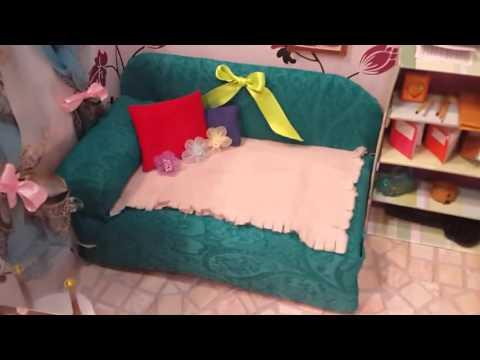 Обзор кукольного домика от канала liza Chanell  на конкурс Дом мечты моих куколок.