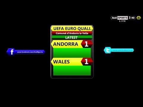Avid Sports Live Radio - UEFA Euro 2016 Qualifier - Andorra vs. Wales