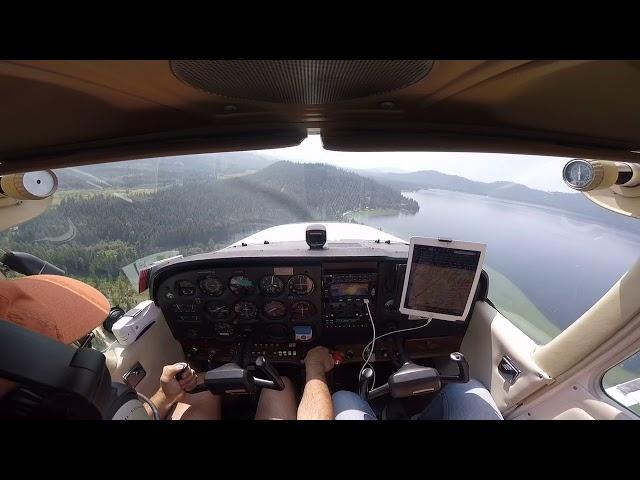 Landing Cavanaugh Bay rwy 33