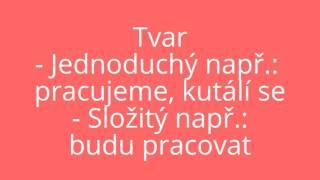 Něco z 5. třídy, čeština I Slovesa (vše o nich)