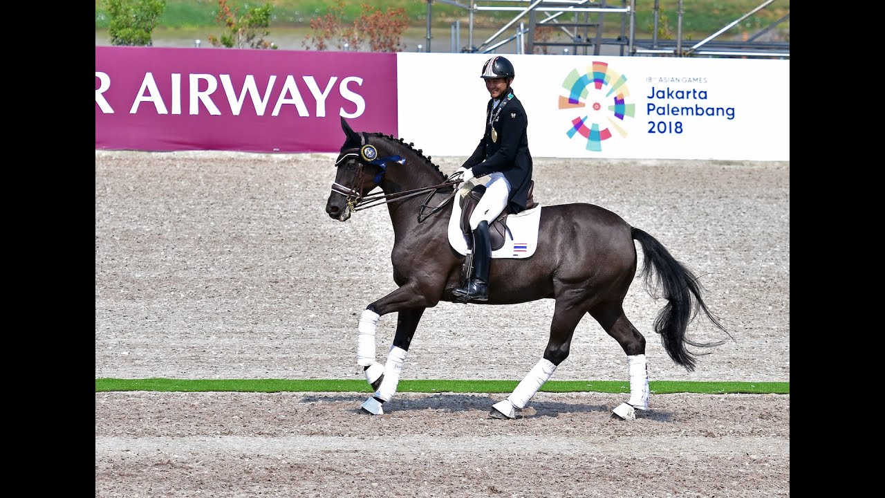 Asian Games 2018 - Chalermcharn Yotviriyapanit & Jazz Royal, Prix St. Georges (Team Test) 65.882%