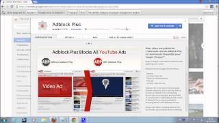 Marre des publicitées qui gênent la naviguation, voici la solution / Mozilla / Chrome