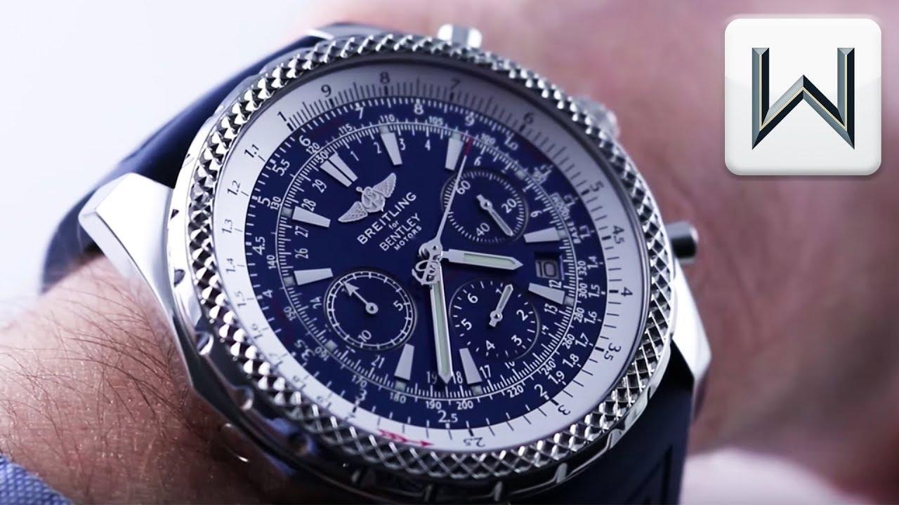 Breitling Bentley Watch >> Breitling Bentley Motors 30 Second Chronograph A2536212 C618 Luxury Watch Review