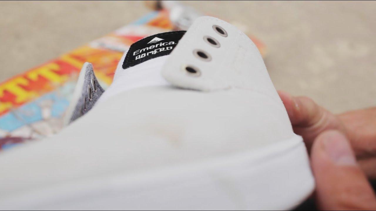 431615f5521e 100 Kickflips In The Emerica Romero Laced Shoes - YouTube