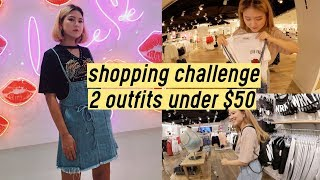 2 Outfits Under $50 Shopping Challenge at