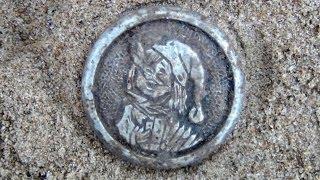 Поиск монет в лесу 2013 видео