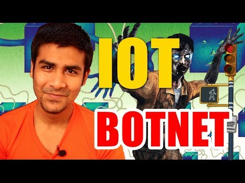 IOT Botnet | Risk With Internet Of Things ? | BOTNET ATTACKS ?