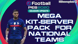 PES 2020 Mega Kit-Server Pack National Teams 2020/2021