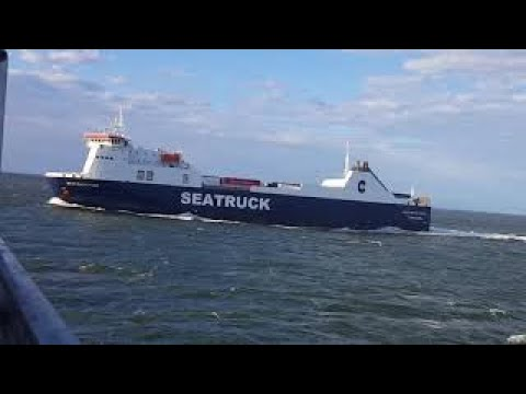 MANANNAN Ferry Sailing ⛴ Isle Of Man 🇮🇲 1080p60
